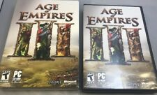 Age of Empires 3 III for PC CD-ROM Video Game Microsoft Game Studios Windows