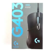 Logitech - G403 (Hero) Wired Optical Gaming Mouse - Black - BRAND NEW
