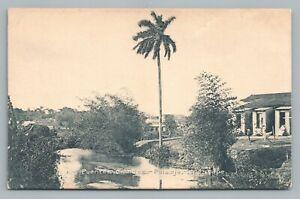 Puentes Grandes CUBA Havana HABANA Antique Tarjeta Postal Postcard 1910s