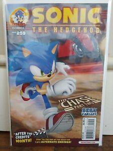 Sonic the Hedgehog #259B Sega Variant VF 2014 Archie Comics 1st Series Late Run