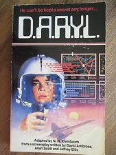 RARE ! D.A.R.Y.L. book from the motion picture 1985