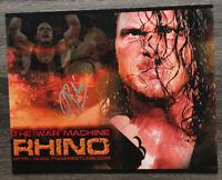 Rhino (Rhyno) Autographed Signed WWE WWF TNA WCW 8x10 Photo W/COA