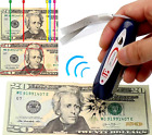 2 in 1 Counterfeit Money Detector Tester Dollar Bill Fake Currency Checker EUROS