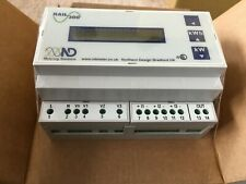 Northern Design ND Rail 300 - DIn 3 phase kWh meter - Pulse Output - Dual tariff