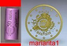 Malta rotolino 2 euro 2012 TYE
