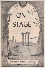 "Marc Blitzstein  ""Juno""  Playbill  Tryout  1959  Shirley Booth & Melvyn Douglas"