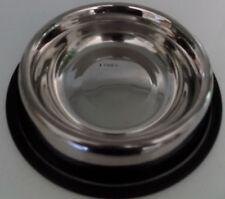 Comedero bebedero para perros en acero 23 cm diámetro x 4,5 cm de alto