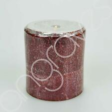 Cinnamon Spice Scented Small Pillar Candle Home Decor 25 Hours Burning Time