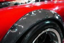2x Radlauf Verbreiterung CARBON Kotflügelverbreiterung Leiste für Volvo V50 MW