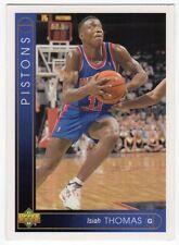 figurina CARD BASKET NBA 1994 NEW numero 88 ISIAH THOMAS