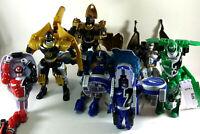 Power Ranger Morphing 7 Lot S.P.D. Wild Force Dino Thunder 2002-2004 Figures WOW