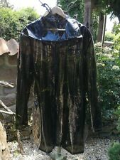 PVC  Regenmantel, Lack Regenmantel Raincoat, Regencape XL/XXL