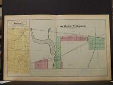 Indiana, La Porte County Map, 1892, Johnson Township Union Mills Wellsboro O4#89
