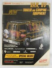 Sears Specialog 1986 1987 New Van RV Trailer And Camping Equipment Catalogue (O)
