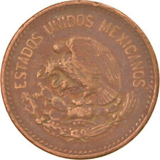 [#815106] Coin, Mexico, 20 Centavos, 1953, Mexico City, EF(40-45), Bronze