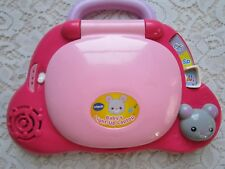 "A Pink Vtech Electronic ""Baby's Light-up Laptop"""