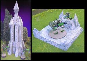 Wargames Scenery Terrain D&D Warhammer 25mm - Signal Tower / Teleport
