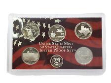 2004 S State Quarters Silver Proof Set - No Box Or CoA