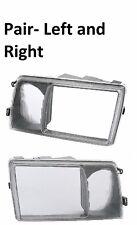 For 300SDL 300SE 300SEL 350SD 350SDL 420SEL 560SEL LFT RT Headlight Bezel Frame