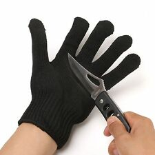 1pc Steel Wire Fishing Fillet Glove Cut Resistant Thread Weave Tool Glove
