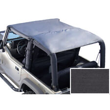 Islander Rollbar Top Black Denim for Jeep Wrangler TJ 1997-2006 Rugged Ridge