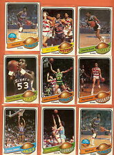 1979-80 Topps basketball you pick 10 picks $2.00 nm to mint