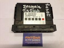 Insignia Body Control BCM Module ECU Control Unit / Tis2Web Reset 13578704
