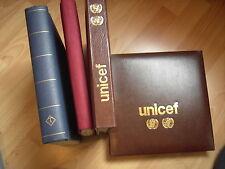 UN: Große Sammlung der Flaggen in -4- Alben: FDC, Blöcke, Kleinbg., usw.