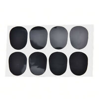 0.8mm 8pcs rubber saxophone sax clarinet mouthpiece pads patches cushions ME