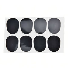 0.8mm 8pcs rubber saxophone sax clarinet mouthpiece pads patches cushions  I