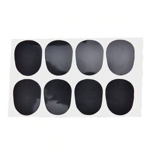 0.8mm 8pcs rubber saxophone sax clarinet mouthpiece pads patches cushions In ND