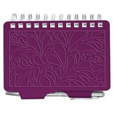 Wellspring Password Organizer Book w/Pen 2961 Terrace Collection MULBERRY Purple