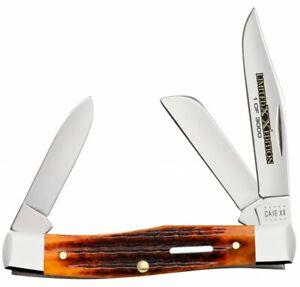 Case xx Medium Stockman Knife Series XXXVI Second Cut Autumn Bone 1/3000 12184