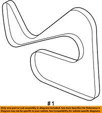FORD OEM-Serpentine Drive Fan Belt 9L8Z8620C