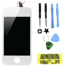 White Front Touch Digitizer LCD Display Screen Replacement for iPhone 4 4G GSM
