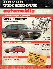RTA revue technique automobile N° 515 OPEL VECTRA GL GLS CD GT