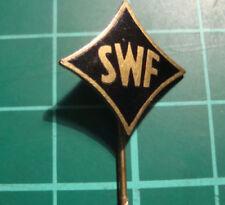 SWF stick pin badge 60s Anstecknadel lapel speldje S.W.F. Südwestfunk
