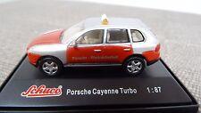 Schuco 1:87 25124 Porsche Cayenne Turbo  Werkschutz  Neu OVP