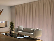 Unbranded Polyester Solid Pattern Window Curtains