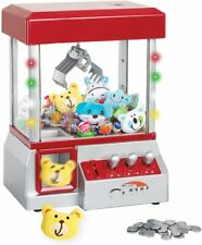 The Claw – As Seen On Tv – Candy Grabber Mini Claw Machine W/ 6 Plush Animals