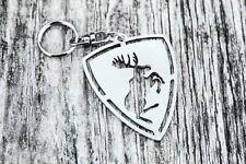 moose keychain stainless steel keyring for car S60 S80 V70 V80