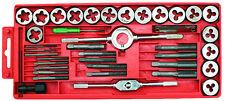 Coffret tarauds et filières 40Pcs  Outils à tarauder fileter filetage  3 à 12 mm