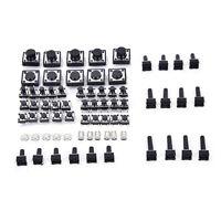140x tastatur taster druckschalter micro SMD SMT taktschalter 14typen 4H ML