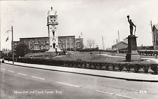 Town Hall & Clock Tower, BURY, Lancashire RP