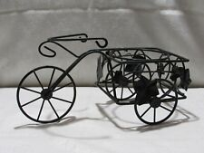 New listing Wrought Iron Tricycle Plant Stand Flower Pot Holder