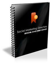 Get A Large List Of Social Media Websites With SOCIAL MARKETING Directory (CD)