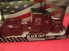 "New-Ray Peterbilt Model 379 ""Blackout""  semi tractor  1/32 scale nib"