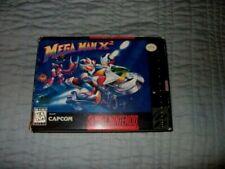 Super Nintendo SNES - MEGA MAN X2 - Complete in Box - 100% ORIGINAL