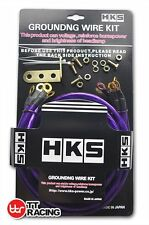 JDM HKS STYLE EARTH Grounding Wire Strap System Performance Kit Purple