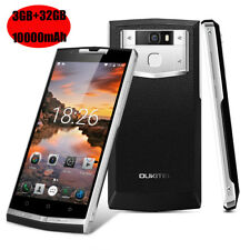 "10000mAh 5.5"" OUKITEL Android 3+32GB 4G LTE Cellulare 8*Core Fingerprint 13MP IT"